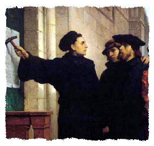 Luther's 95 theses in plain english